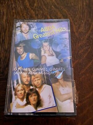 Abba - Greatest Hits Vol 2 - Cassette Saudi - Sealed