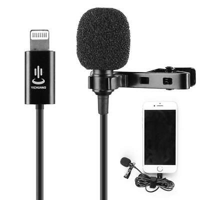 Professional Grade Lavalier Lapel Microphone  Omnidirectional Mic with Easy...