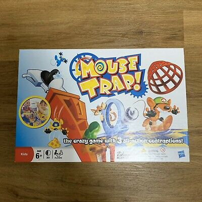 Mouse Trap Board Game By Hasbro, 6+ Game