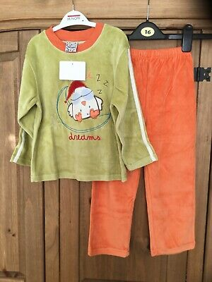 New With Tags Girls Pyjamas , Age 4 Yrs , From Tobogan , Theme Dreams ,