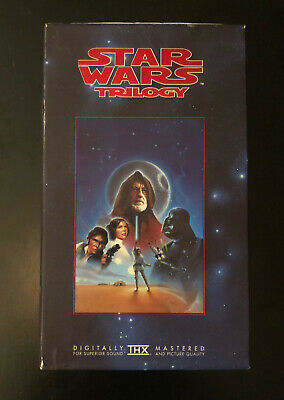 Star Wars Original Trilogy boxset  Digitally Remastered VHS 1995 Retro/Vintage