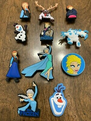 Frozen 11 pcs Shoe Charms Bracelet Charms