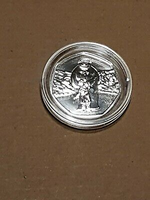 2019 Royal Mint The Snowman  50p Coin Brilliant Uncirculated in capsule