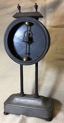 ANTIQUE CIRCA EARLY 1900s GRAVITY CLOCK BRITISH MADE BY WATSON CLOCK CO