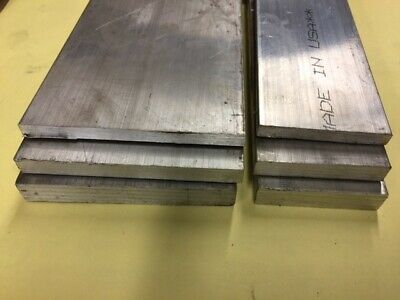 1/4, 3/8, 1/2 inch thick  Aluminum flat bar 2 inch and 3 inch wide, 12 inch long