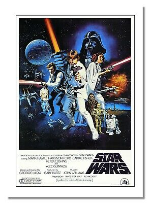 Star Wars Epic Space Opera Film Advert Poster Photo Cinema Stars Print Famous
