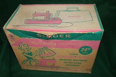 Vintage No.50 SINGER Sewhandy electric sewing machine for kids Free USA Shipping