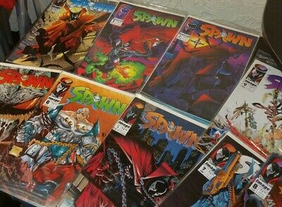 Spawn #1 Through 9 (May 1992, Image) 9 Comic Books Lot In Order   Make an offer