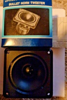 "Fender Rumble 112 Compression Bullet Horn Tweeter 3-7//8/"" Round"