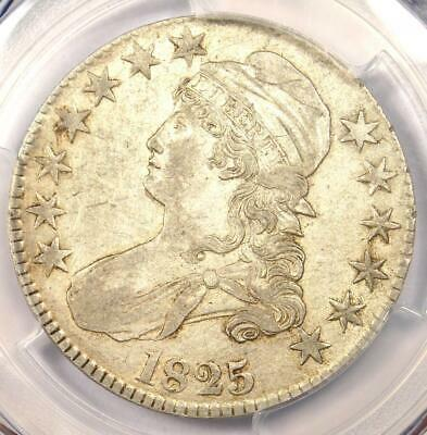 1825 Capped Bust Half Dollar 50C O-116 - PCGS XF Details (EF) - Rare Coin!