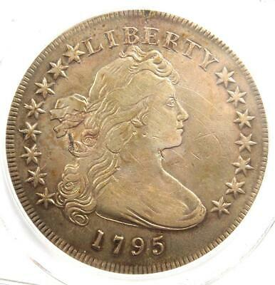 1795 Draped Bust Silver Dollar ($1 Coin, Small Eagle) - Certified PCGS VF Detail