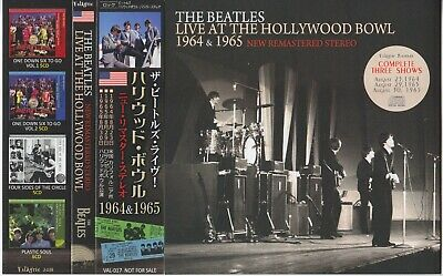 The Beatles / Live At The Hollywood Bowl 1964-1965 / New Remastered Stereo / 2CD