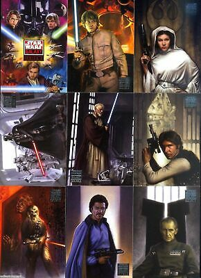 Star Wars - Galaxy Series 4 - Complete 120 Trading Card Set - 2009 Topps - NM