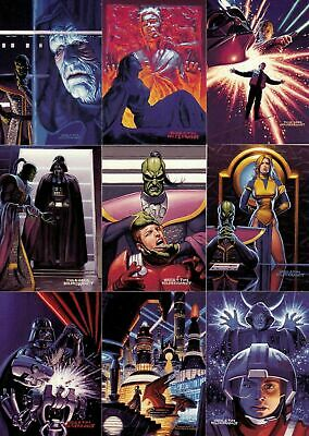 Star Wars - Shadows of the Empire SOTE - Complete 90 Card Set - 1996 Topps - NM