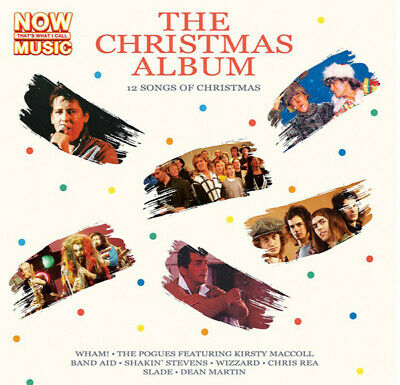 Now The Christmas Album - Various Artists [New & Sealed] Vinyl 12""