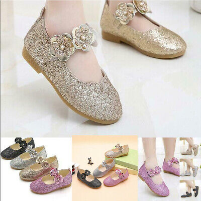 Infant Kids Baby Shoes Girls Crystal Bling Sequins Single Princess Shoes Boots