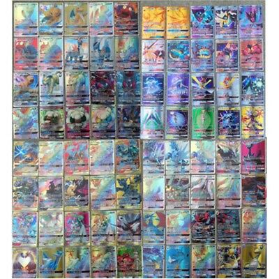 100/200 PCS GX+EX+MEGA+Energy Pokemon Cards Holo Trading Flash Cards Bundle UK