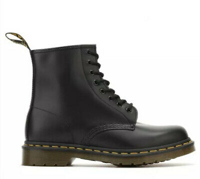 Dr Martens 1460 Smooth Black Leather Boots Size 6.5