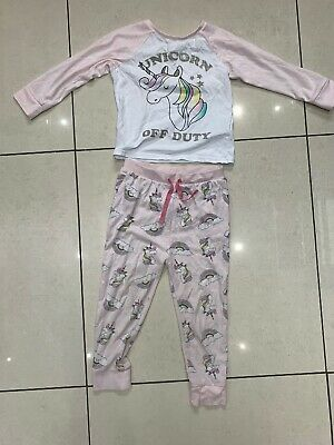 Marks And Spencer Girls Unicorn Pyjamas, Aged 4-5 Years