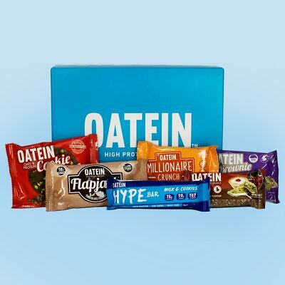 Oatein 23 Protein bar Selection Box - Low Sugar, Vegetarian, high protein