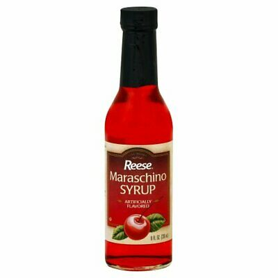 REESE, SYRUP MARASCHINO, 8 OZ, (Pack of 12)