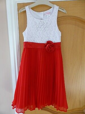 Girls Formal Party Wedding Dress Age 10 WORN ONCE EX CON