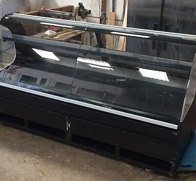 NUTTALL REFRIGERATED DISPLAY COUNTER 2535mm X 1250mm X 1380 mm