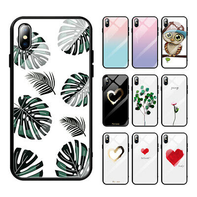 Shockproof Protective Glass Phone Case Cover For Apple iPhone XS Max XR X 8 7 6