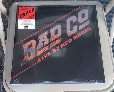 Bad Company Live at Red Rocks Limited red vinyl RSD Black Friday 2019