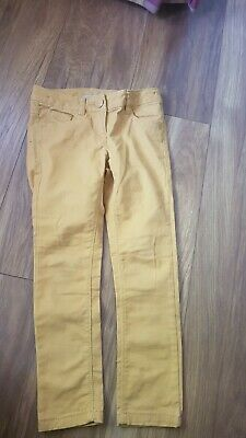 Next Mustard Casual Trousers  age 6 years Vgc