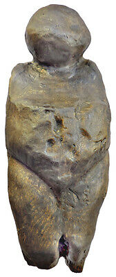 Paleolithic Venus from Kostjenki - Russia - cast without stand