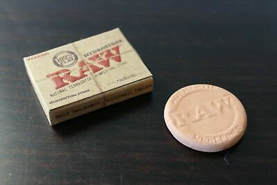 RAW Rolling Papers HYDROSTONE Natural Terra Cotta Humidifying Stone for humidor