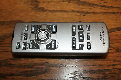 Preowned Toyota Lexus DVD Rear Entertainment Remote Control P/N # 86170-45070