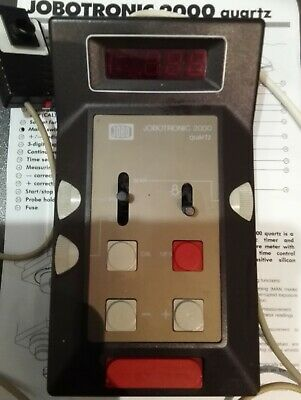 Jobo Jobotronic 2000 Darkroom Enlarger Timer Analyzing Computer
