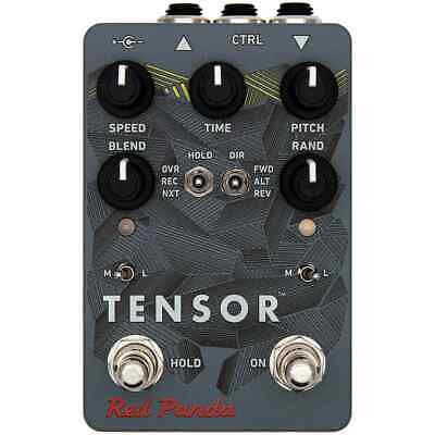 NEW! Red Panda Tensor time warp delay pedal