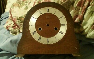 Vintage 1940s/50s Smiths Enfield wood clock case