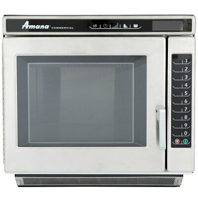 Amana RC17S2 Heavy Duty Stainless Steel Commercial Microwave Oven