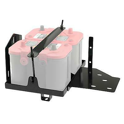 Smittybilt Dual Battery Tray for Optima Batteries 2799