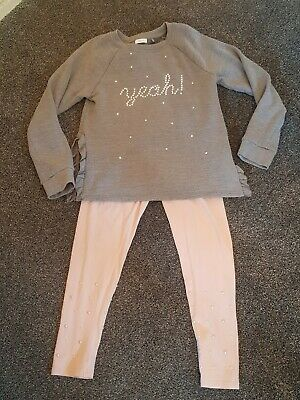 Next leggings and jumper set AGE 10 and 11, outfit