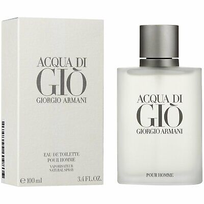 Aqua Acqua Di Gio Eau de Toilette 3.4 by Giorgio Armani Men NEW