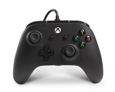 PowerA Enhanced Wired Controller for Microsoft Xbox One - BLACK