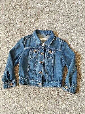 New Look Girls Denim Jacket UK 8 Yrs Vgc