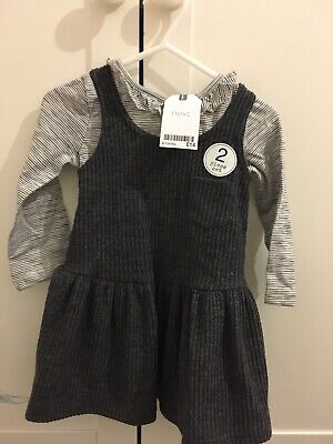 Baby Girls Next  Dress Top Set Outfit New With Tags 9-12 Months