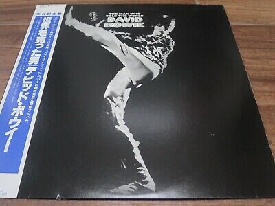 DAVID BOWIE The Man Who Sold The World JAPAN 1983 with OBI NEAR MINT