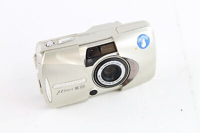 Olympus MJU III 120 All Weather COMPACT FILM CAMERA WORKING