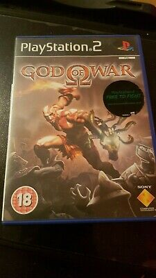 God of War (Sony PlayStation 2, 2005) PAL English UK Version PS2 VGC 18+ Vintage