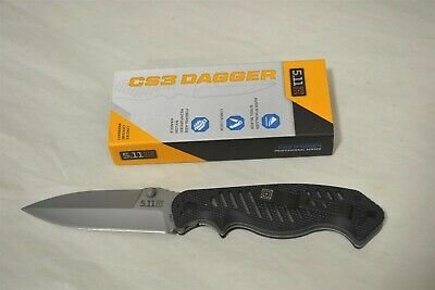 5.11 Tactical CS3 AUS8 Stainless Steel Folding Blade w Liner Lock