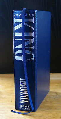 Insomnia (1994) Stephen King, Signed Limited Edition, Hodder & Stoughton 1St Ed.