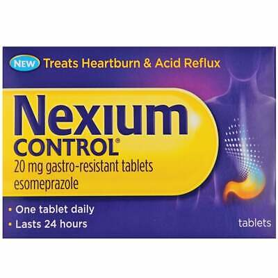 Nexium Control 20Mg Gastro-Resistant Tablets - 14 Tablets