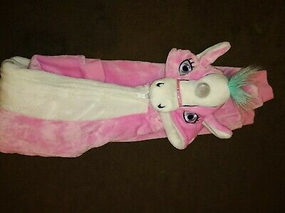 Unicorn  Onsietype all in one / sleepsuit / PJ's / dress up  Age 9-10 Years